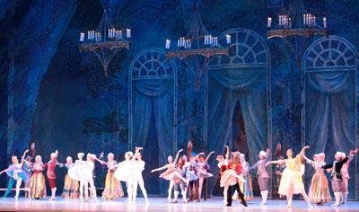 спектакль «Спящая красавица» - балет П.И. Чайковского.