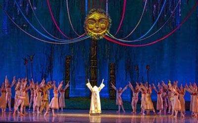 Балет «Снегурочка» на сцене Кремлевского Дворца