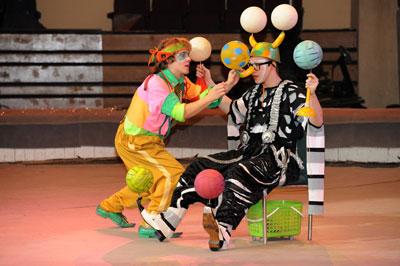 В Центре циркового искусства (ЦЦИ) прошел выпуск и рабочий просмотр номеров компании «Росгосцирк»