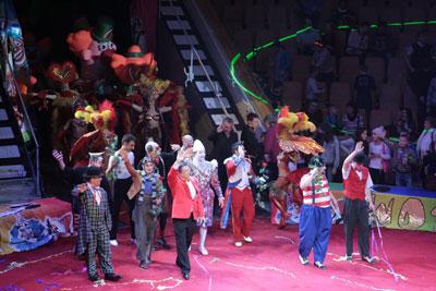 В Екатеринбургском цирке открылся V Всемирный фестиваль клоунов