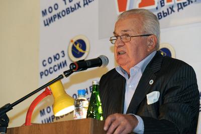 Председателем правления СЦДР был избран Э.Э. Кио