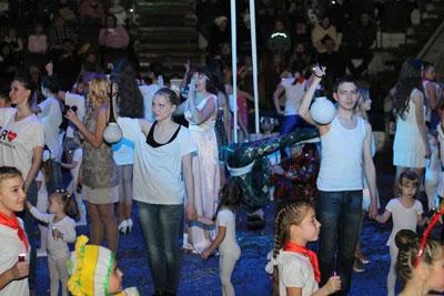 Новокузнецкий цирк- благотворительное шоу «День чудес в цирке»
