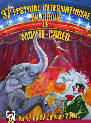 В Монте-Карло 17 января 2013 г. пройдет 37-ой Международный фестиваль циркового искусства