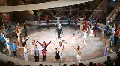 Цирковая программа Тамерлана Нугзарова Вива Зорро в цирке Ростова-на-Дону
