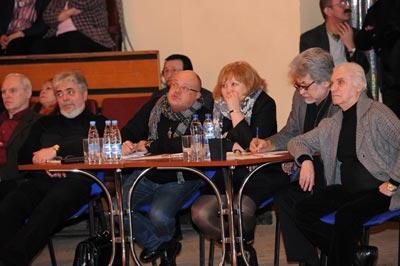 28 февраля 2013 г. на манеже Центра циркового искусства (ЦЦИ) прошел рабочий просмотр номеров