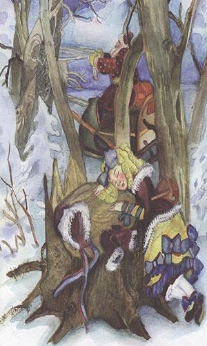 Деде Мороз и Маша