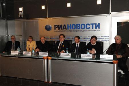 пресс-конференция Российский цирк в руках реформаторов