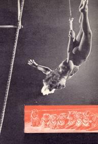 Воздушная гимнастка Мариз Бегари