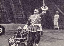 Клоун. Заслуженный  артист  Грузинской   ССР А. Цхомелидзе