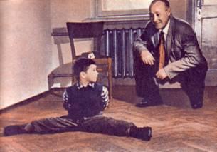 Саша Иванов.  Ему всего 4 года.