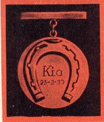Золотая  медаль КИО