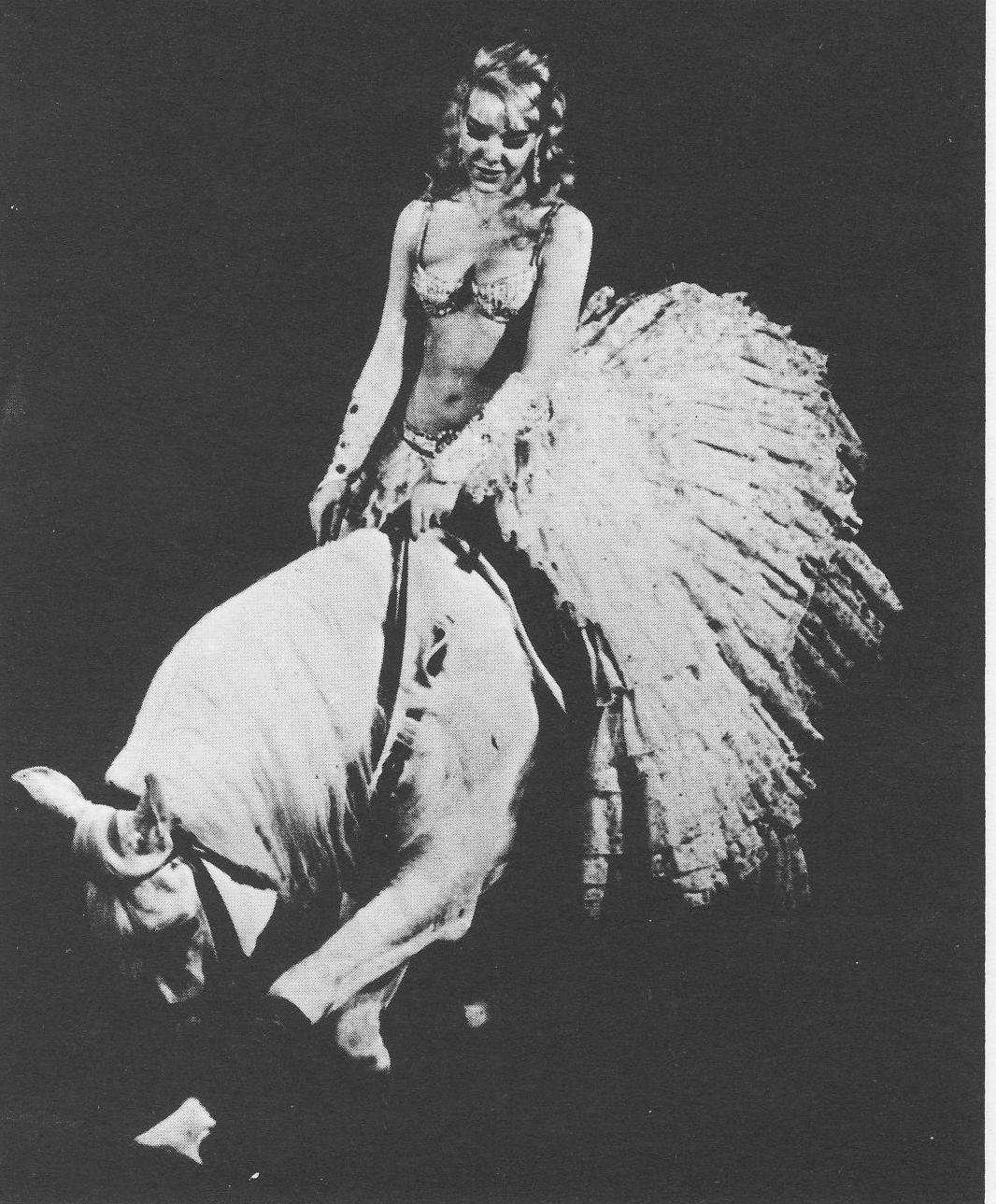 Лило в Цирке Медрано. 1963 год