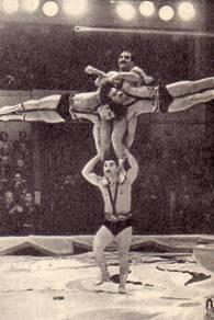 Акробаты Горсеванишвили