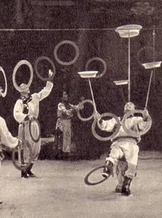 Тувинские жонглеры Оскал-Оол