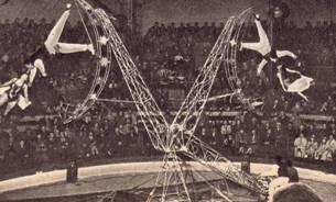 Де-то – гимнасты на вращающемся аппарате