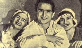 Трио Розетти (слева направо): Шурета, Жорж и Мария
