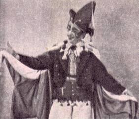 Жорж Розетти в номере музыкальной эксцентриады (финал)