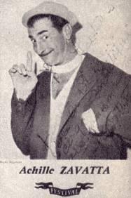 «Читателям журнала «Советский цирк» на добрую память» АХИЛЛ ЗАВАТТА