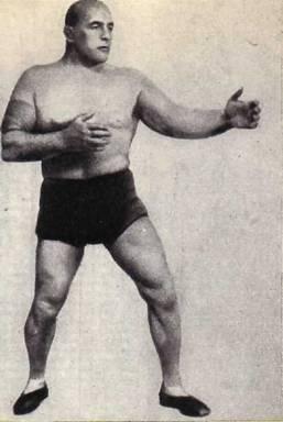 Известный   русский    борец   Станислав   Збышко