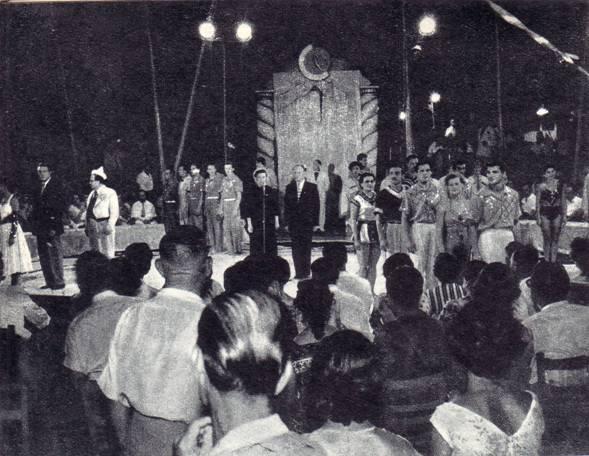 Афины. Парад-пролог программы гастролей советского цирка