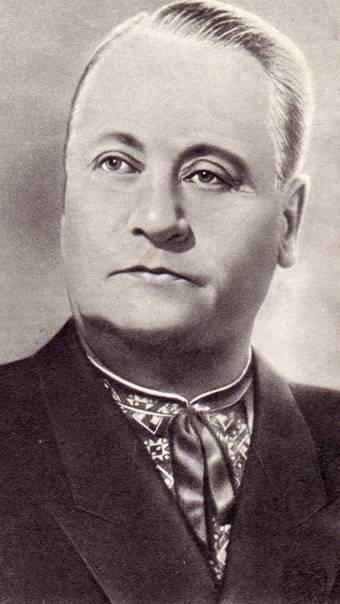 Заслуженный артист РСФСР А. Н. Буслаев