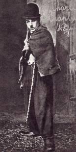 В образе Чарли Чаплина (1932 г.)