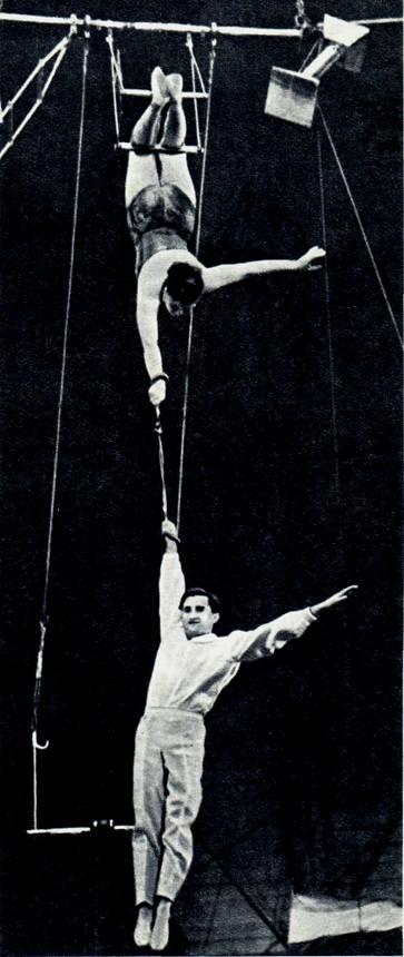 Воздушные гимнасты Шимон (Венгрия)
