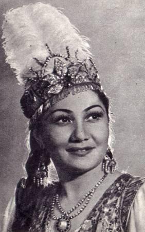 Лола Ходжаева, народная артистка Узбекской ССР