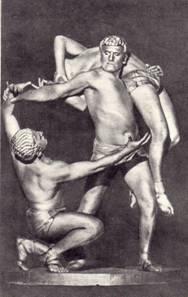 «Живые скульптуры» - артисты Магдасян