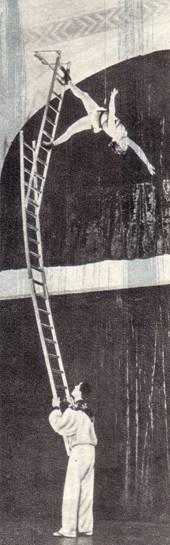 Эквилибристы на лестнице А. Бабушкина и Г. Махлин