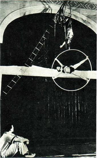 Воздушные гимнасты Р. Осипова и А. Андреев