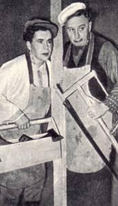 клоуны П.Тарахно и Е.Мочалова