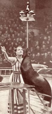 Дрессировщица морских львов Ирин Сидоркина