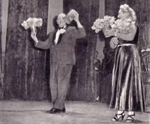 Игра с цветами. Артисты Ларионовы
