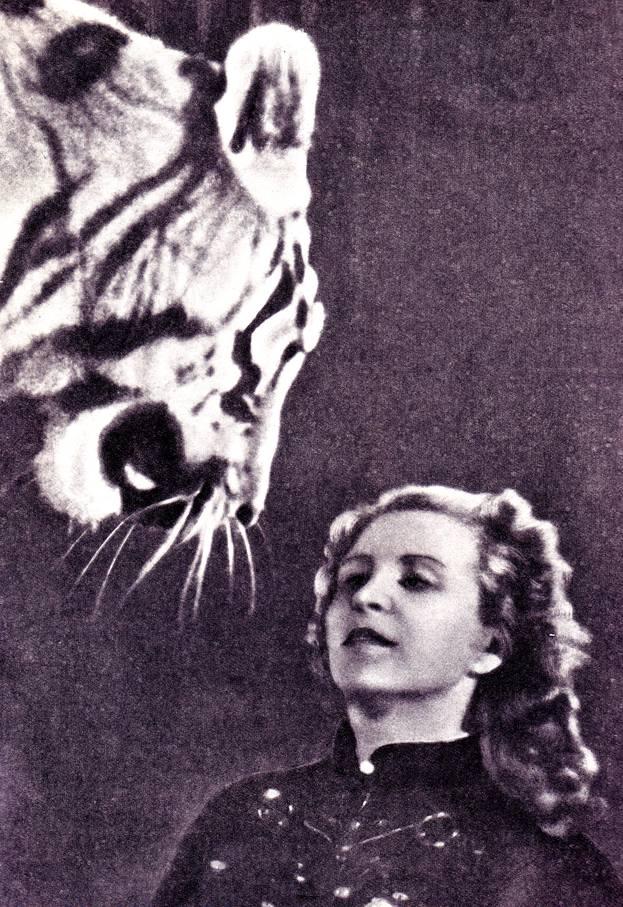 Маргарита  Назарова и ее любимец Пурш