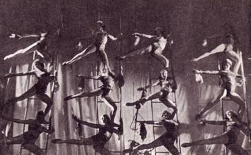 Выступление студентов циркового техникума (1929 г.)