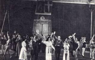 Хельсингборг. Пролог выступления советских артистов во дворце спорта