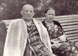 Г. И. Казанов с женой в санатории