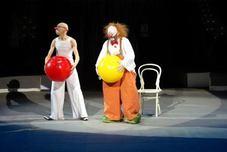 Лицедеи и Маски-шоу приехали в цирк Ижевска