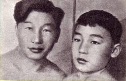 Артисты монгольского цирка Раднабазар и Нацак —  студенты ГУЦИ (1937 г.)