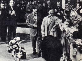 Чествование Г. З. Мозеля в Ленинградском цирке