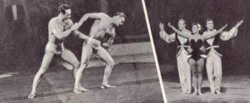Дебютируют выпускники ЦУ 1958 года – Ю. Вольфсон и В. Шагунин