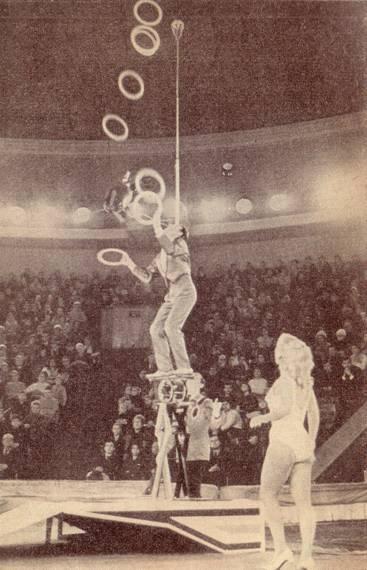 Александр Кисс - жонглер мирового уровня