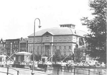 Здание цирка Шуманов в Копенгагене