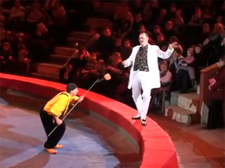 Ustyantsev K., Kozlov. ��������� ���� ���� �. ���������, �. ������.  Clown duo Blues.������� ��������. reprise microphone