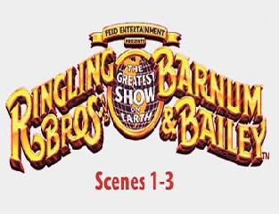 Цирковая программа. Ringling Bros. and Barnum & Bailey. 1 часть.